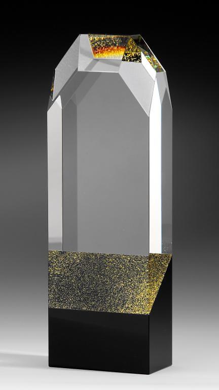 Trofeo cristal optico en diferentes terminaciones icono wolt