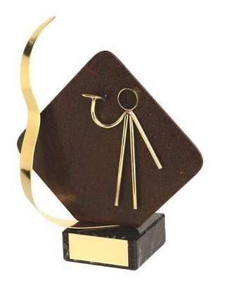 Trofeo dardos detalle rombo