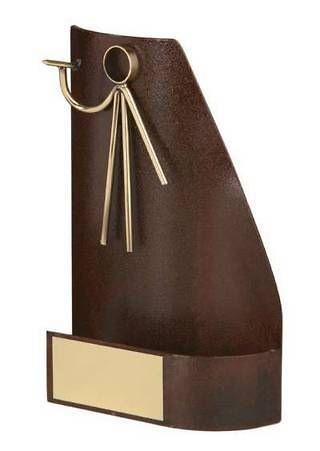 Trofeo dardos rectangular