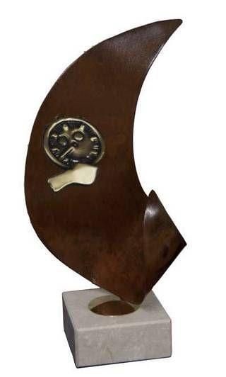 Trofeo Artesanal Laton Arbitro