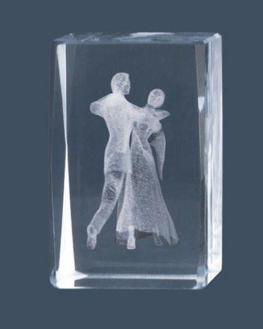 Trofeo de Baile moderno, Lozoya cubo de cristal