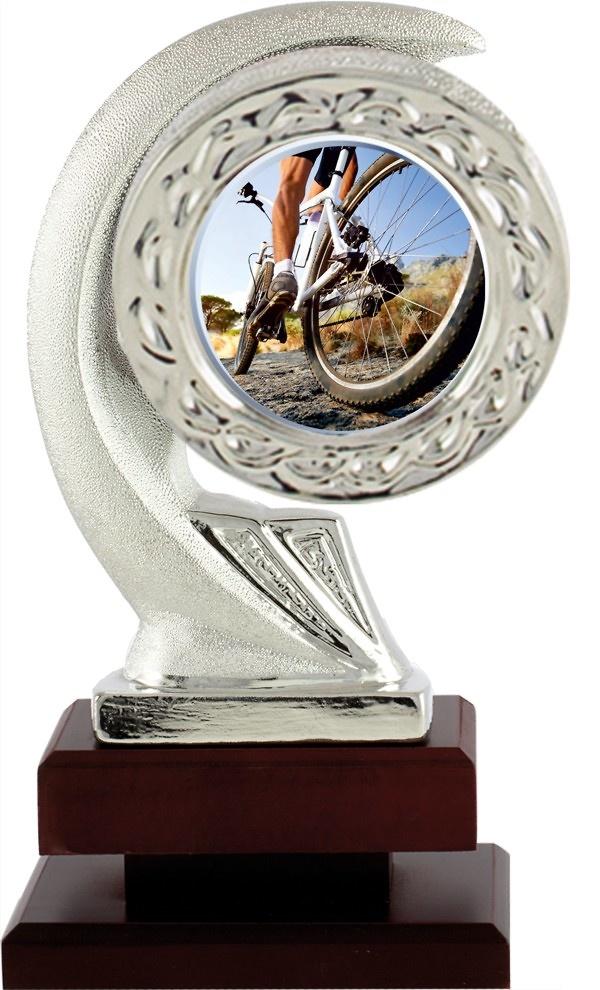 Trofeo de Cristal Transparente mellado disponible en todos los deportes