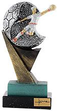 Trofeo de Futbol portero en resina.