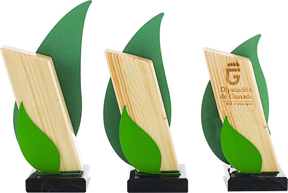Trofeo de Madera Venturada personalizable
