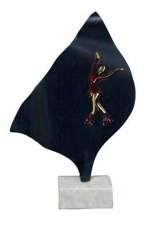 Trofeo Artesanal Laton Pesca