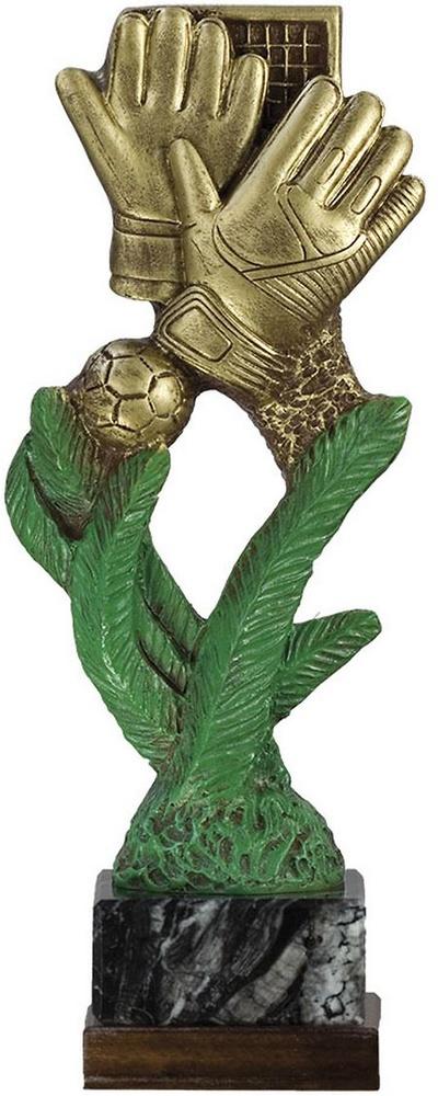 Trofeo de fútbol para portero