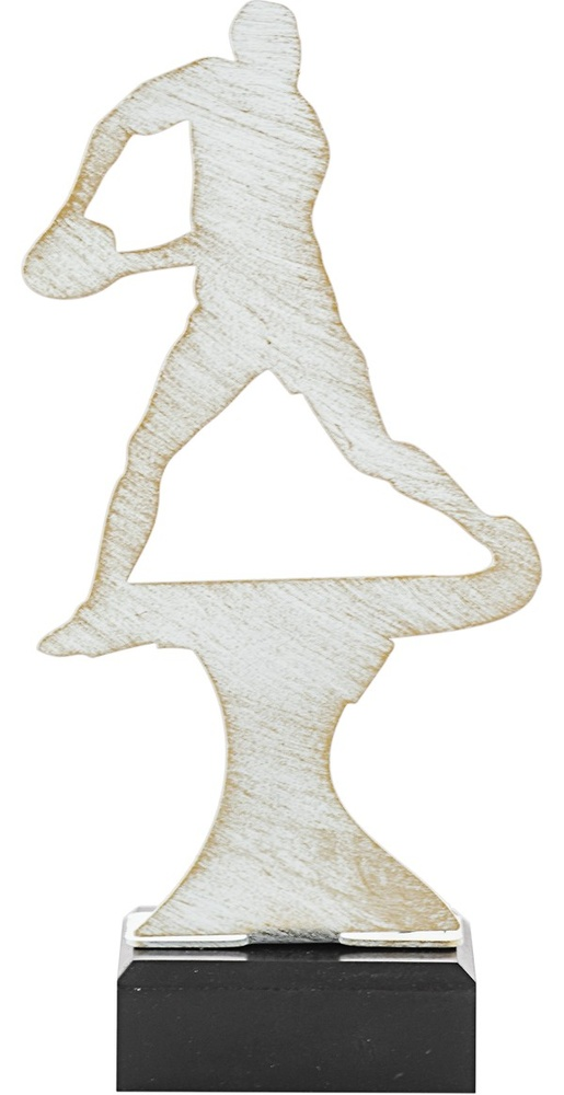 Trofeo de metal para esgrima modelo poseidon