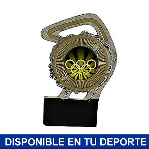 Trofeo de resina Plateada múltiples deportes
