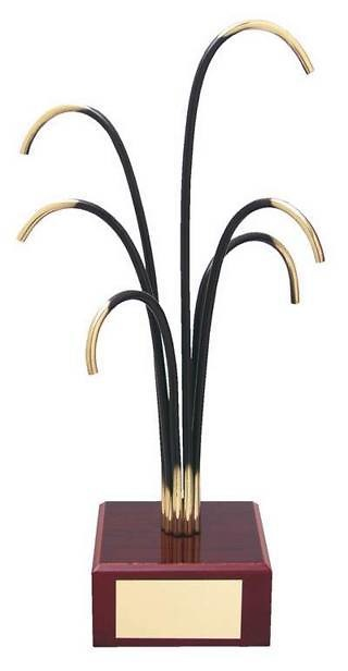Trofeo diseño palmera