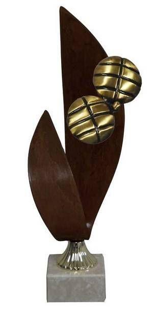 Trofeo Artesanal Laton Petanca