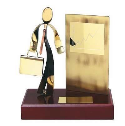 Trofeo ejecutivo exposición