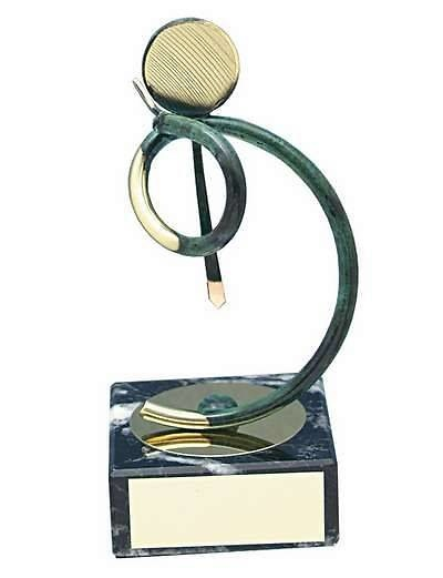 Trofeo ejecutivo latón