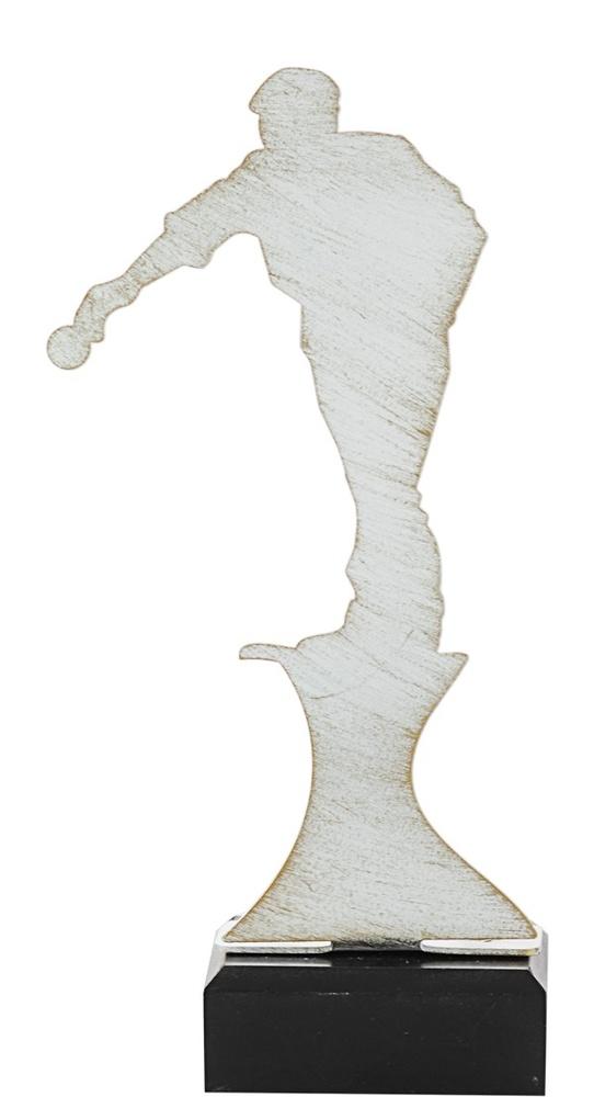 Trofeo en metal de ajedrez modelo gamen