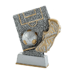 Trofeo en resina de Futbol.