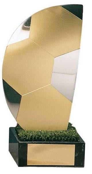Trofeo fútbol medio balón