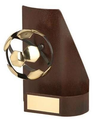 Trofeo fútbol trapecio