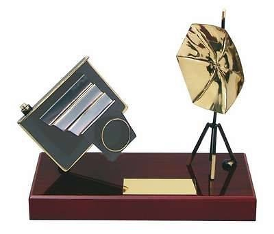 Trofeo fotografía cámara antigua
