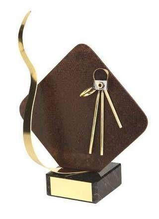 Trofeo fotografía detalle rombo