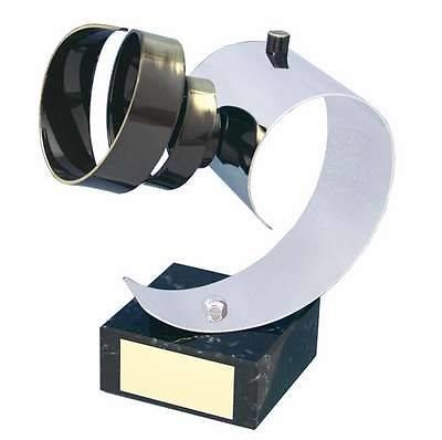 Trofeo fotografía objetivo cámara