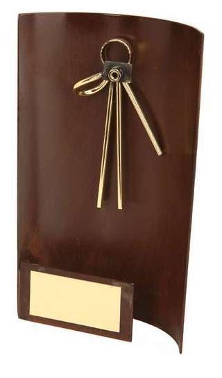 Trofeo fotografía rectangular