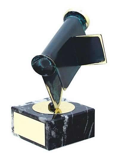 Trofeo fotografía video cámara negra