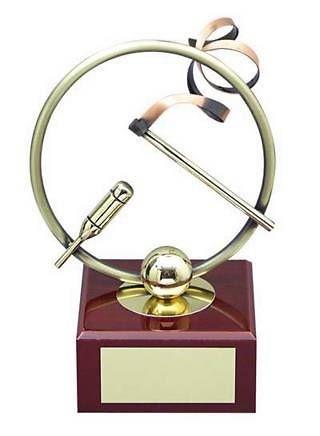 Trofeo gimnasia rítmica latón