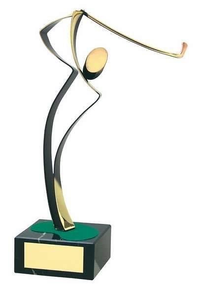 Trofeo golf golfista