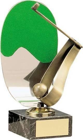 Trofeo golf medio golfista