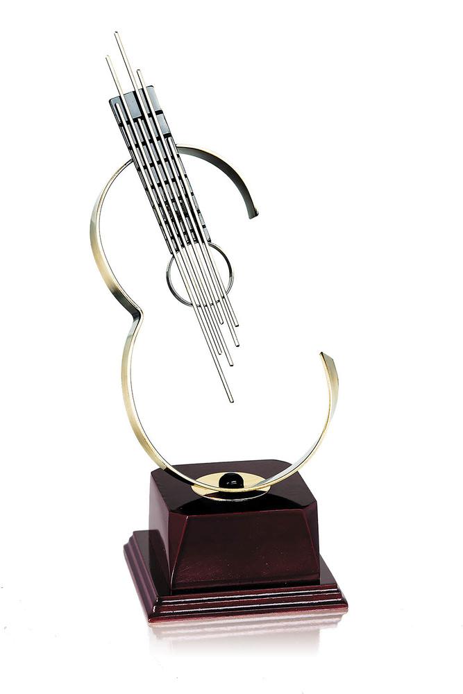 Trofeo guitarra de música