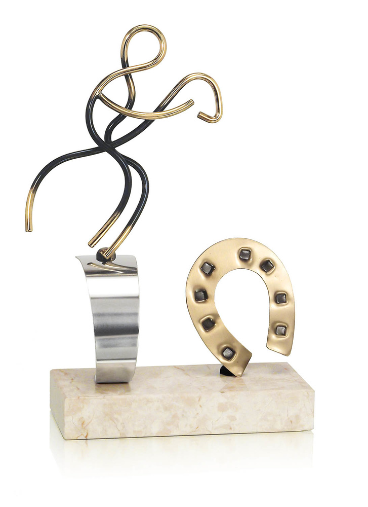 Trofeo herradura de hipica