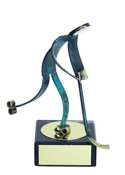 Trofeo hockey patines latón
