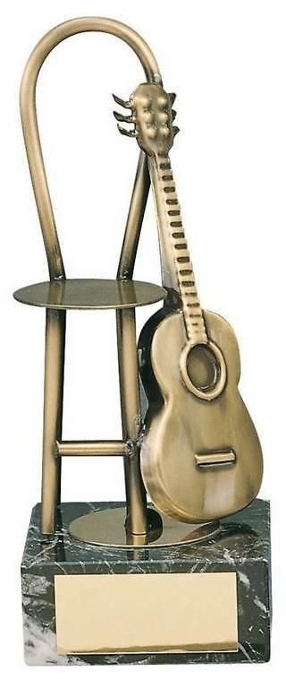 Trofeo música guitarra española