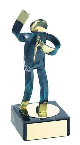 Trofeo música hecho a mano