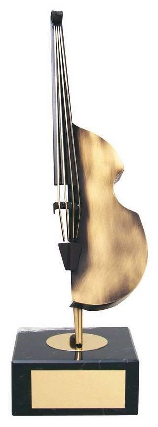 Trofeo música violonchelo