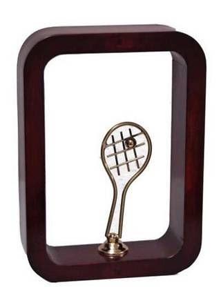 Trofeo Artesanal Laton y Resina Tenis