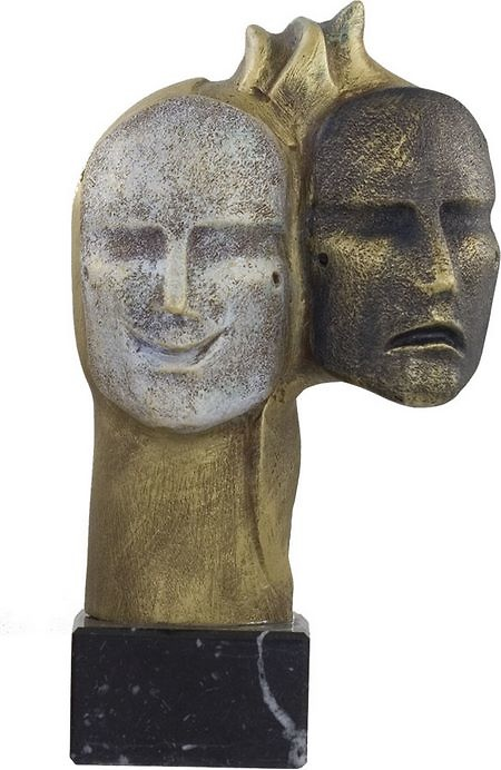Trofeo mascaras de carnaval