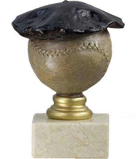Trofeo modelo boina para pelota a mano