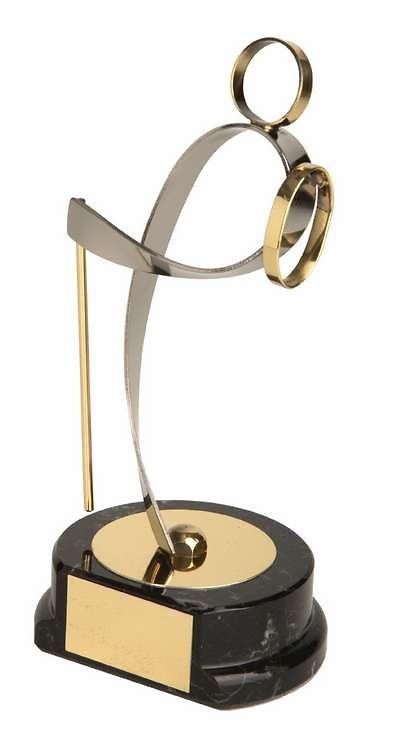 Trofeo montaña dorado