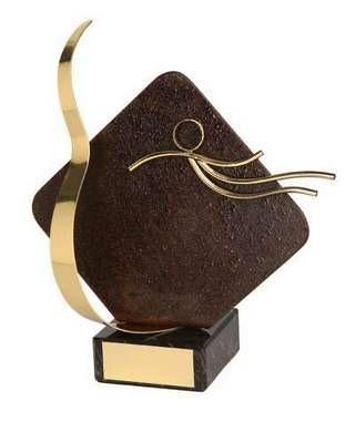 Trofeo natación rombo