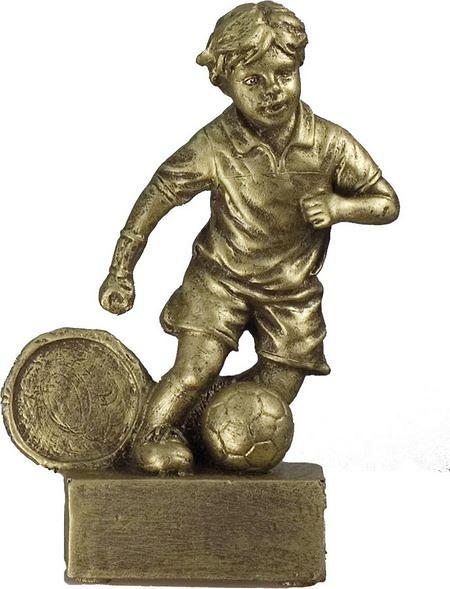 Trofeo niño de futbol