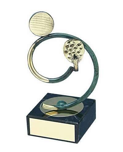 Trofeo padel artesanal