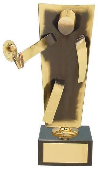 Trofeo padel latón