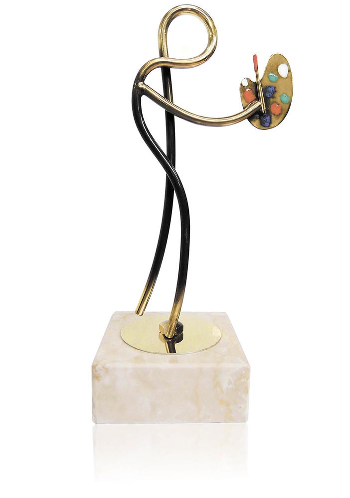 Trofeo paleta de pintor