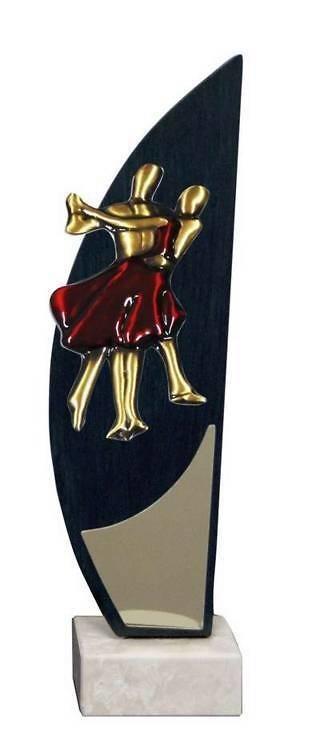 Trofeo Artesanal Laton Baile