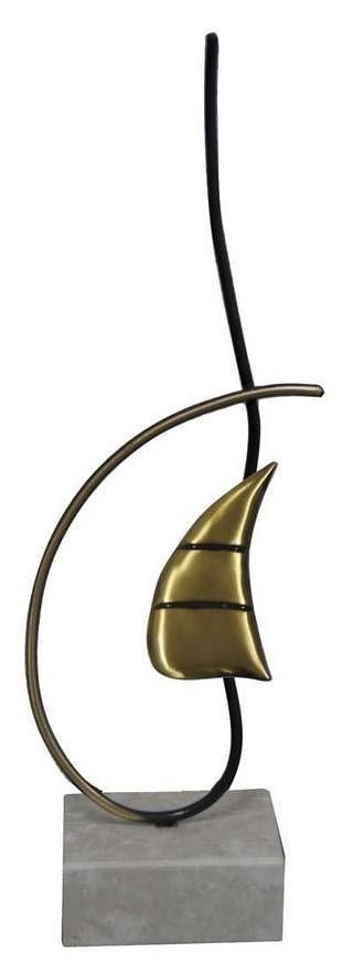 Trofeo Artesanal Laton Vela