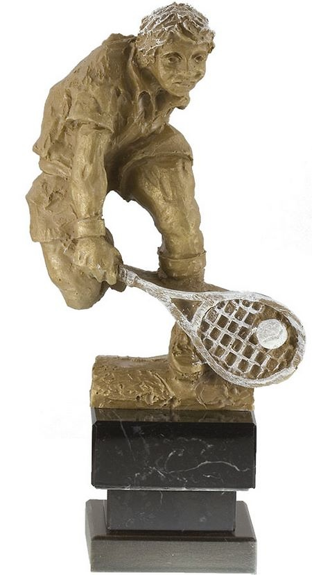 Trofeo para tenis figura masculina
