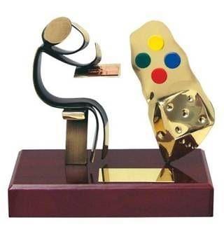 Trofeo parchís jugador
