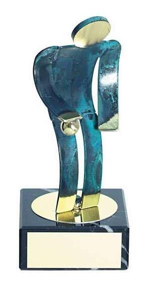 Trofeo petanca artesanal