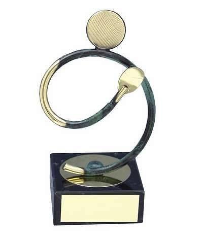Trofeo ping pong jugador