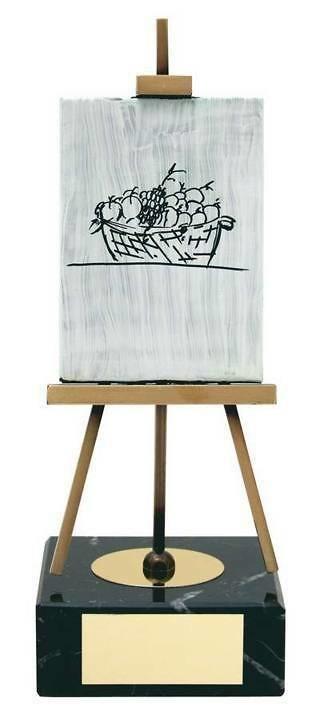 Trofeo pintura caballete
